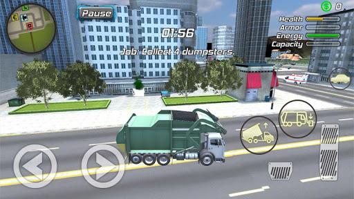Crime Angel Superhero - Vegas Air Strike 1.0.8 screenshots 8