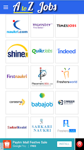 AtoZ Jobs - All Jobs in One App - náhled