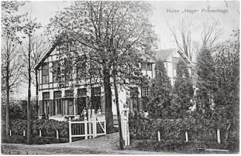 Photo: 1920 Huize ''Hage'' Prinsenhage.