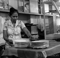 Photo: Each plate is wrapped in plastic to show  how serious they take cleanliness Tangalle Sri Lanka