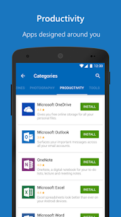 Microsoft Apps Screenshot