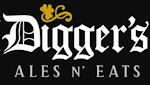 Logo for Digger's Ales N' Eats