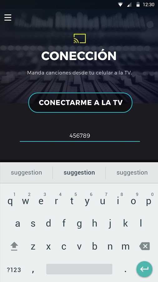Karaoke Smart: captura de pantalla