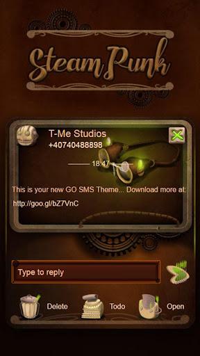 Steampunk GO SMS