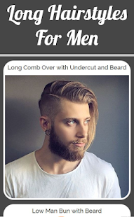 Long Hairstyles For Men - náhled