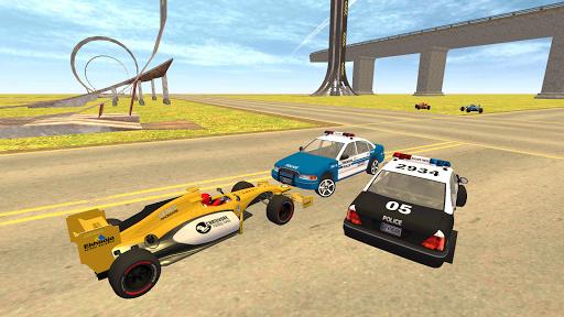 Formula Car Racing u2013 Police Chase Game 1.19 screenshots 9