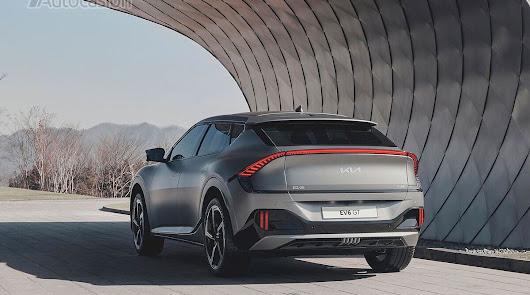 El nuevo Kia EV6 ofrece un nivel excepcional de usabilidad