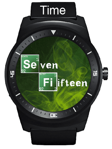 Breaking Time Watch Face