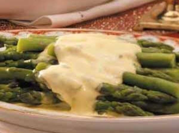 Asparagus With Bearnaise Sauce Recipe