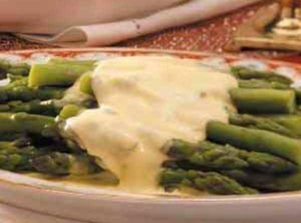 Asparagus With Bearnaise Sauce Recipe