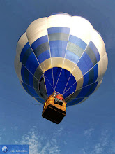 Photo: Take-off of a hot-air balloon