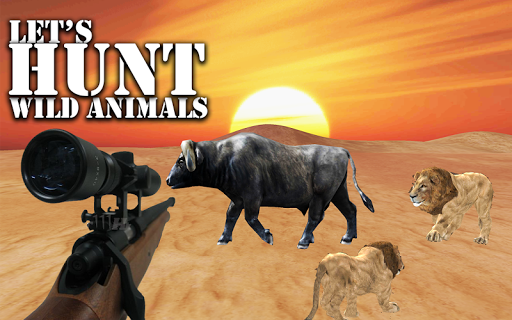 Frontier Animal Hunting: Desert Shooting 17  screenshots 1