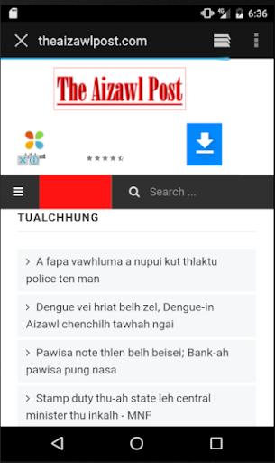 News Portal Mizoram 1.1 screenshots 2