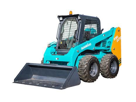 Sunward SWL3230 | Kubota 75hk | Lyfter 1100kg | Kompaktlastare