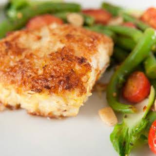 Parmesan Baked Cod.