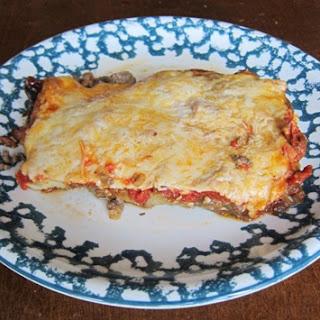 Vegetarian Eggplant Lasagna.