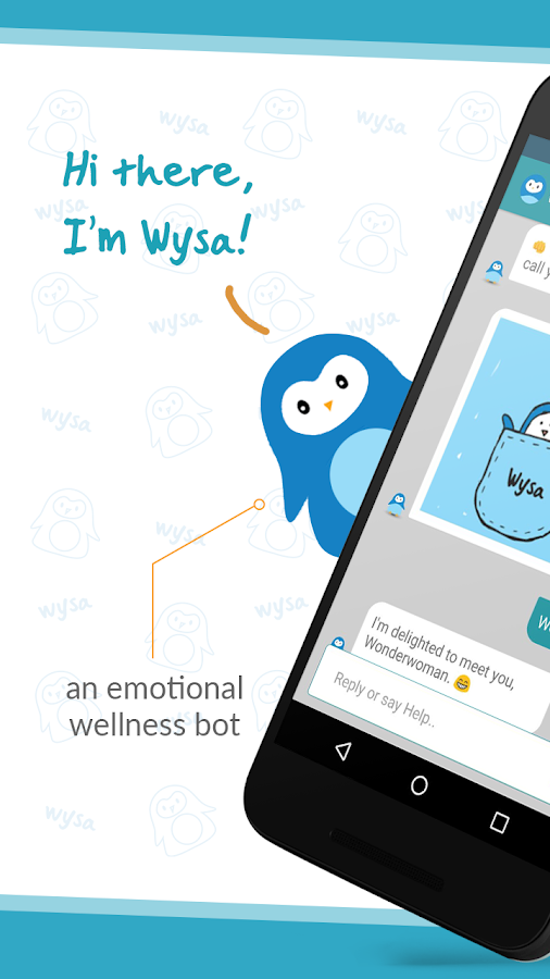 Wysa - your happiness buddy- screenshot