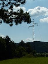 Photo: So klein und schon ein Hochspannungsmast?