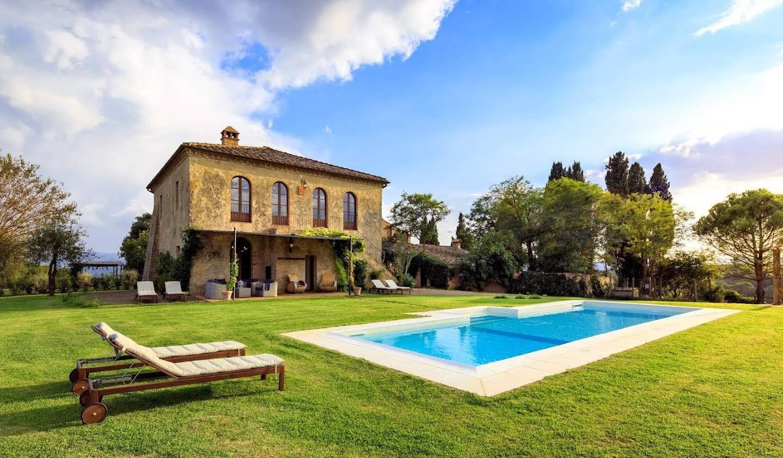 Villa avec piscine Buonconvento