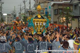 Photo: 【平成20年(2008) 本宮】  式典終了後、あいにくのにわか雨・・・。