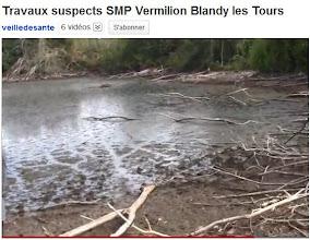Photo: 26/07/11.Blandy les Tours(77)..Visite du site. Sté VERMILION (lire communiqué de presse). http://www.youtube.com/watch?v=qdEYSV59g3w&feature=channel_video_title