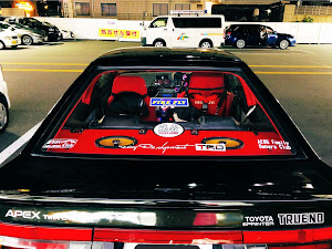 スプリンタートレノ AE86 昭和62年式GT-APEXのカスタム事例画像 F.F.R ざっくぅ(-Aさんの2019年09月03日21:28の投稿