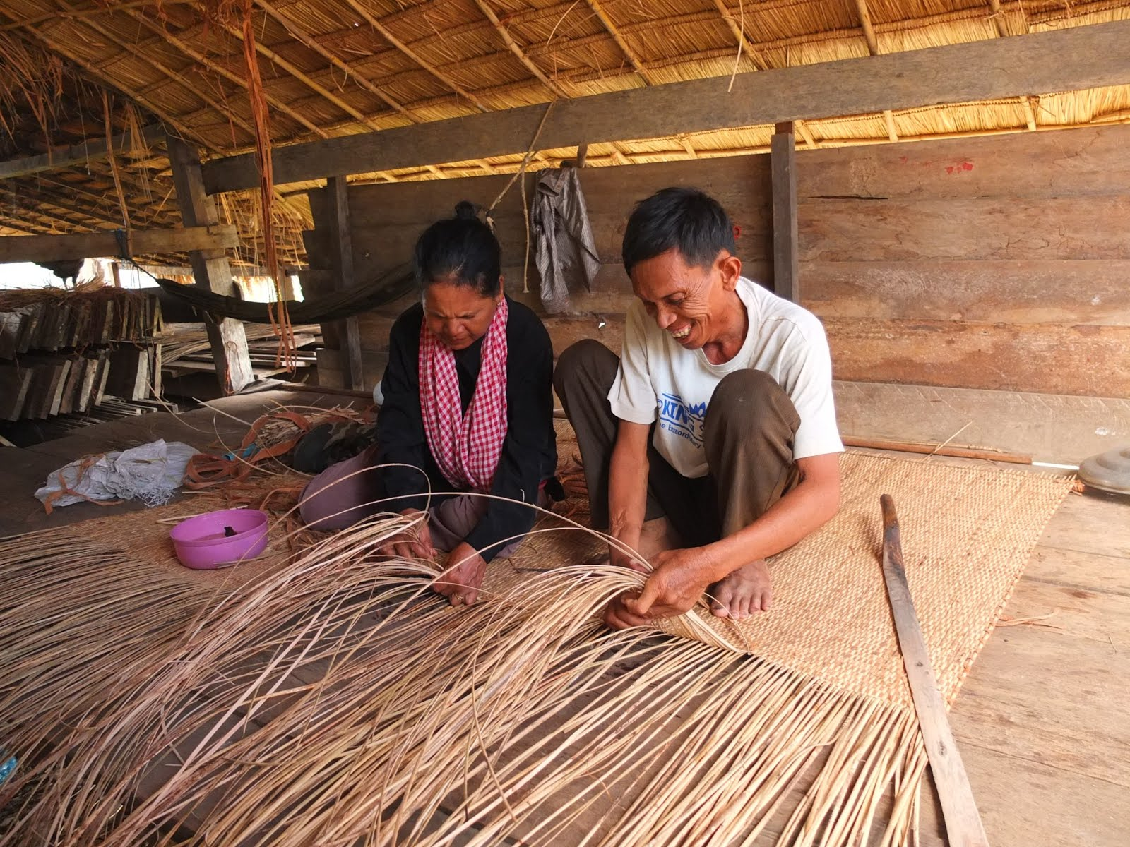 It Is Fascinating To Watch How Rattan Furniture And Handcrafted Mats Are  Pieced Together By Local Artisans. A Small House Bordering One Of Along  Vengu0027s ...