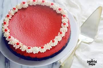 Red Velvet Cheesecake   Imperial Sugar