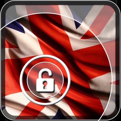イギリスの国旗 ロック画面 個人化 App LOGO-硬是要APP