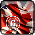 UK Flag Lock Screen icon