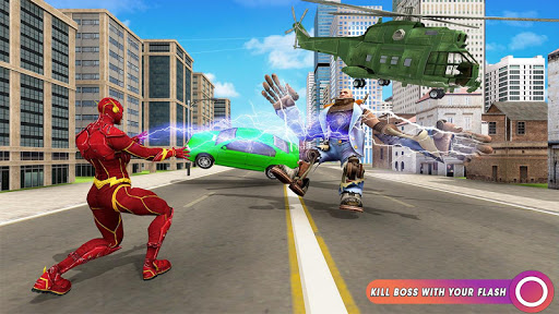 Speed Flash Superhero Fighting City Rescue 1.1.1 screenshots 1