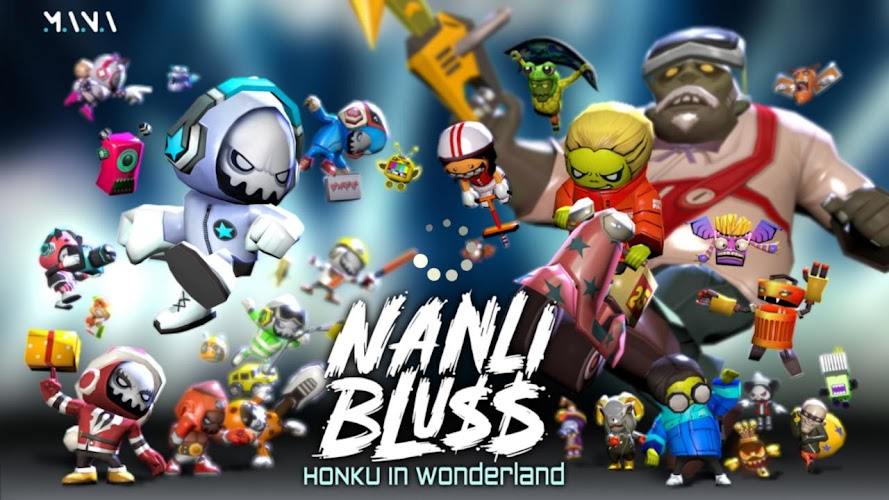 Nanli Bluss Mod v1.1.8 Unlimited Money & Gold) APK