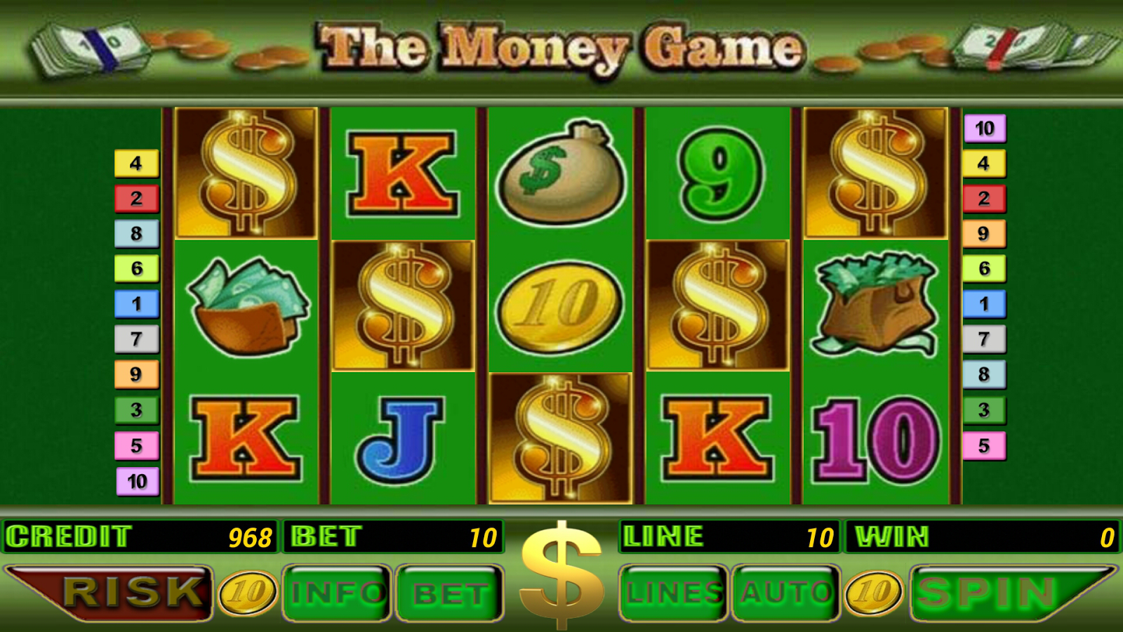 Slots for free money