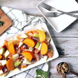Winter Fruit and Citrus Salad.