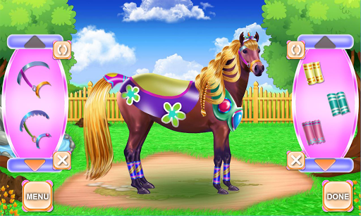 Horse Hair Salon and Mane- Tressage 1.0.0 screenshots 16