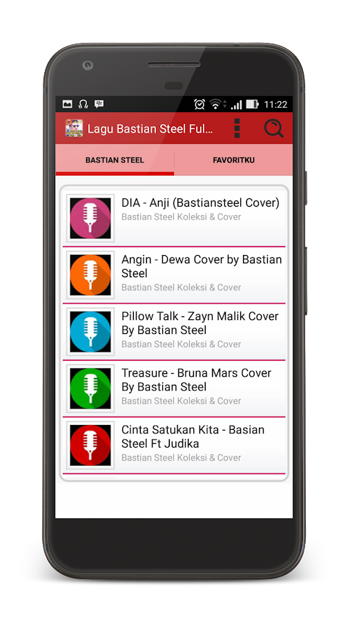 Lagu Bastian Steel Lirik Cover- screenshot