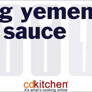 Zhug Yemenite Hot Sauce.
