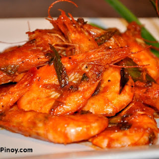 Sweet and Spicy Shrimp Stir Fry