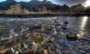 Photo: Scenic HDR Malibu Landscapes shot with a Nikon D3X and 14-24 mm 2.8 Wide-Angle Lens  Scenic HDR Malibu Landscapes shot with a Nikon D3X and 14-24 mm 2.8 Wide-Angle Lens  Seven exposures at 1EV intervals! Finished in photomatix!  Sundown & Sunset over Malibu Creek in Malibu Creek State Park, the day after it rained.