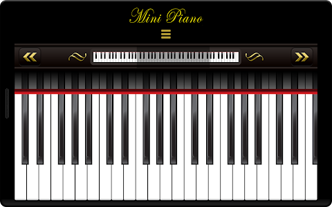 Mini Piano ® screenshot 0
