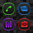 Annabelle Colors On Black Icons icon