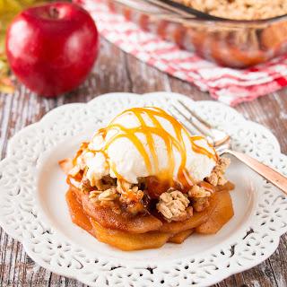 Maple Spice Apple Crisp (video)