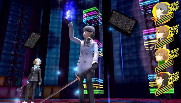 Claramente el protagonista de Persona 4 tiene su estilo.