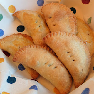 Leftover Lamb, Pea and Rosemary Pasties.