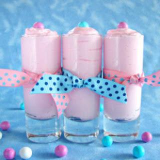 Cotton Candy Mousse.