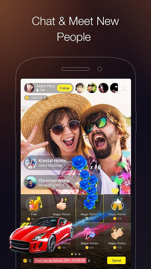 HiClub Live: Live Video Stream & Social Video Chat- screenshot