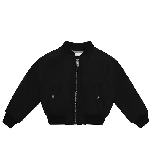 Primary image of Burberry Black Bomber Jacket