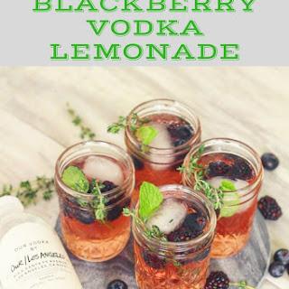 Blackberry Vodka Lemonade.