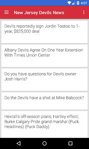 BIG New Jersey Hockey News