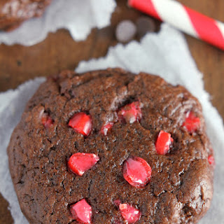 Chocolate Red Hot Cookies.
